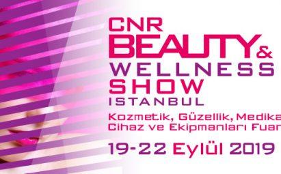 CNR Beauty & Wellness Show İstanbul 19-22 Eylül 2019