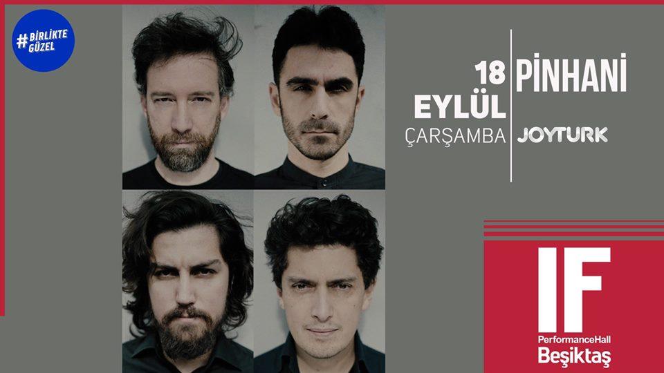Pinhani - IF Performance Hall Beşiktaş
