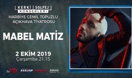 mabel matiz 2 ekim 2019