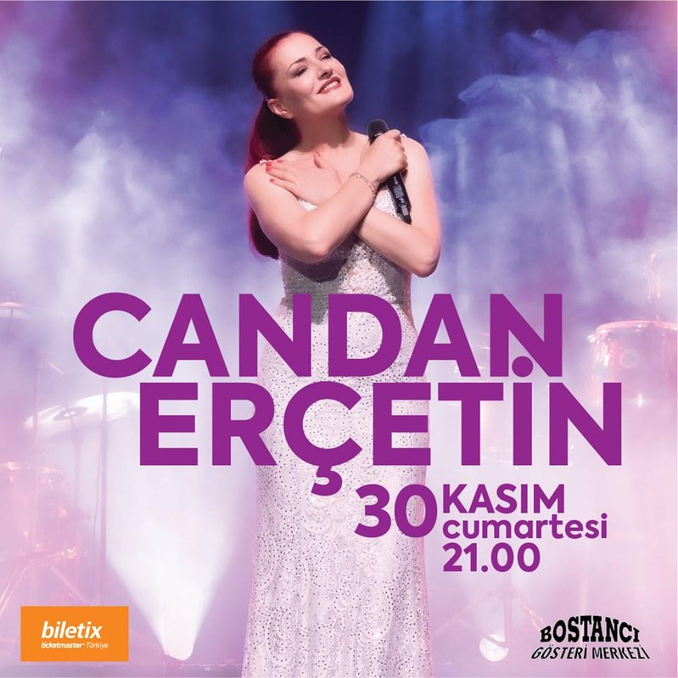 Candan Erçetin , 30 Kasım 2019 Bostancı Gösteri Merkezi'nde