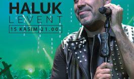 Haluk Levent , 15 Kasım 2019 Bostancı Gösteri Merkezi'nde