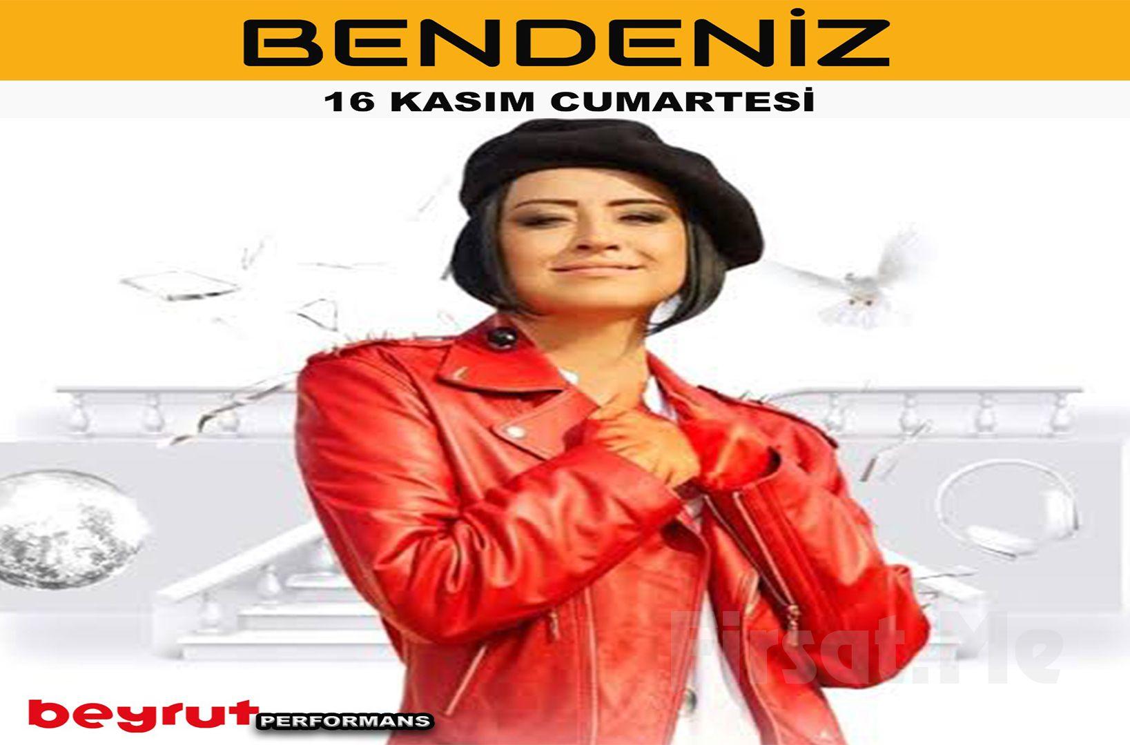 Bendeniz , 16 Kasım 2019 Beyrut Performans Sahnesi'nde